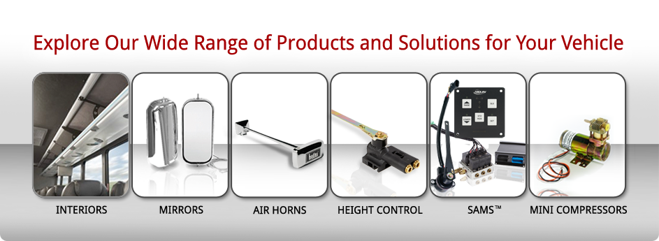 Explore Our Wide Range of Products and Solutions for Your Vehicle