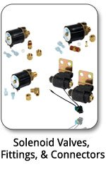 Solenoid Valves, Fittings, & Connectors
