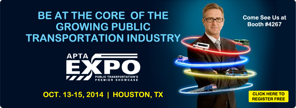 Hadley Brings New Technologies to APTA 2014