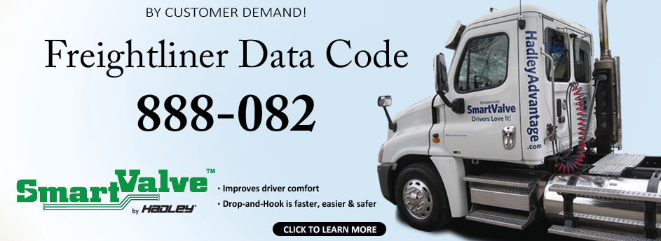 Daimler Trucks North America Offers SmartValve Data Code for New Vehicles