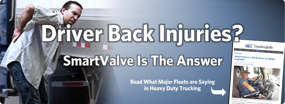Heavy Duty Trucking article: SmartValve is the Answer to Back Injuries