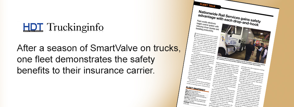 Fleet shares safety advantages of SmartValve with their insurance carrier